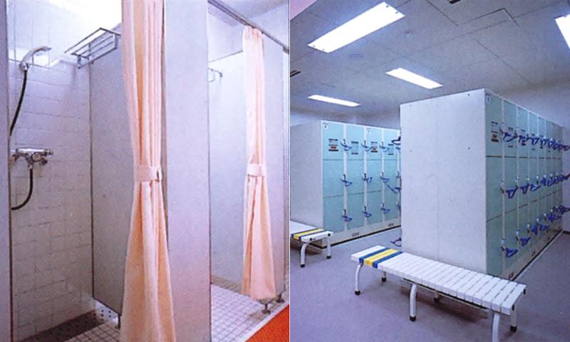 シャワー・更衣室